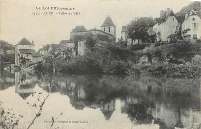 """CPA FRANCE 46 """"Corn, Vallée du Célé""""."""