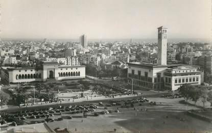 """CPSM MAROC """"Casablanca, le Palais de Justice et les municipaux"""""""