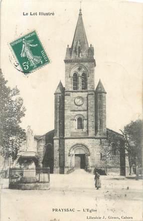 "CPA FRANCE 46 ""Prayssac, L'église""."