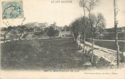 """CPA FRANCE 46 """"Montfaucon du Lot""""."""