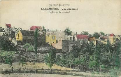 """CPA FRANCE 46 """"Laramière, Vue générale""""."""