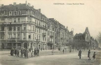 """CPA FRANCE 57 """"Thionville, Avenue Maréchal Pétain"""""""