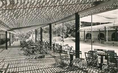 "CPSM MAROC ""Imouzzer du Kandar, Terrasse de l'Hermitage"""