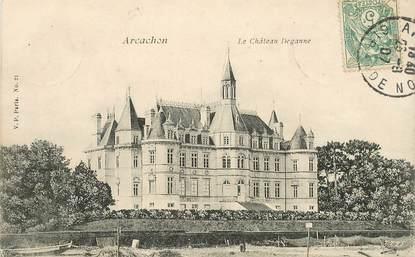 "CPA FRANCE 33 ""Arcachon, le chateau Deganne"""