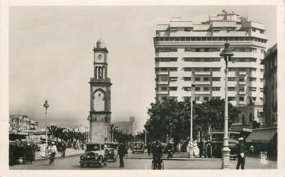 """CPSM MAROC """"Casablanca, la place de France et les nouveaux immeubles"""""""