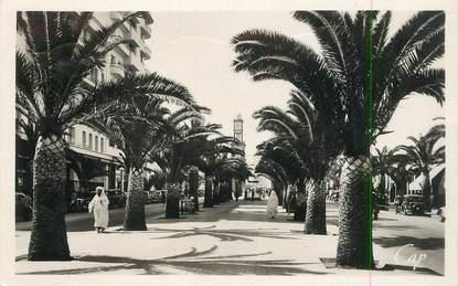 "CPSM MAROC ""Casablanca, le bld de France"""