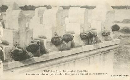 "CPA MAROC ""Oudjda, les remparts"""