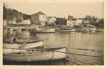 """CPA FRANCE 83 """" Ile de Porquerolles, Panorama pris de la jetée""""."""