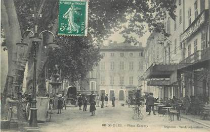 "CPA FRANCE 83 "" Brignoles, Place Caramy""."