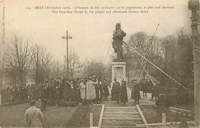 """CPA FRANCE 57 """"Metz, 1918, L'Homme de Fer"""""""