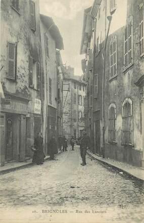 """CPA FRANCE 83 """" Brignoles, Rue des Lanciers"""". / FACTEUR"""