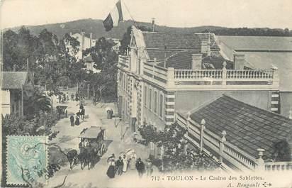 """CPA FRANCE 83 """" Toulon,Le Casino des Sablettes""""."""