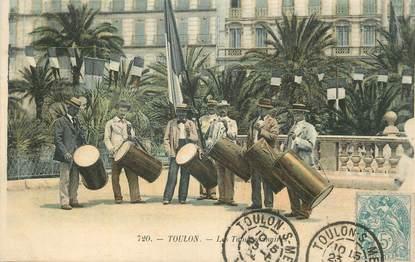"CPA FRANCE 83 "" Toulon, Les tambourinaires""."