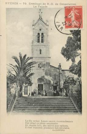 """CPA FRANCE 83 """" Hyères, Ermitage de Notre Dame de Consolation""""."""