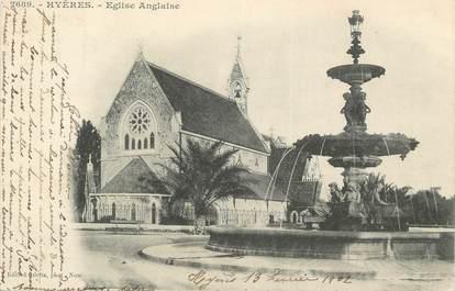 "CPA FRANCE 83 "" Hyères, Eglise Anglaise""."