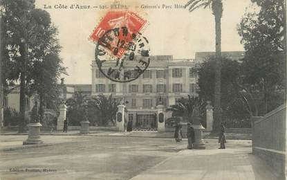 """CPA FRANCE 83 """" Hyères, Grimm""""s Parc Hôtel""""."""