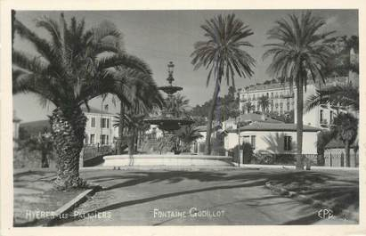 "CPSM FRANCE 83 "" Hyères, Fontaine Godillot""."