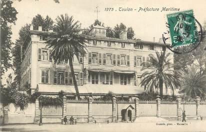 "CPA FRANCE 83 ""Toulon, Préfecture maritime""."