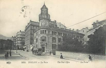 """CPA FRANCE 83 """"Toulon, La poste""""."""