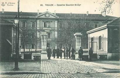 "CPA FRANCE 83 ""Toulon, Caserne Gouvion St Cyr""."