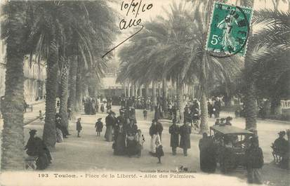 "CPA FRANCE 83 ""Toulon, Place de la Liberté""."