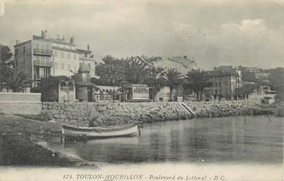 """CPA FRANCE 83 """"Toulon Mourillon, Boulevard du Littoral""""."""