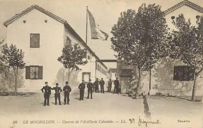 """CPA FRANCE 83 """"Toulon, Le mourillon, Caserne d'artillerie coloniale""""."""