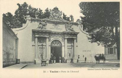 "CPA FRANCE 83 ""Toulon, Porte de l'Arsenal""."