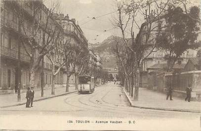 "CPA FRANCE 83 ""Toulon, Avenue Vauban""."