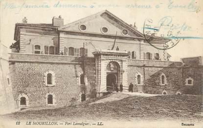 """CPA FRANCE 83 """"Toulon, Fort Lamalgues""""."""