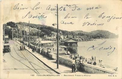 "CPA FRANCE 83 ""Toulon Mourillon, Boulevard Frédéric Mistral""."