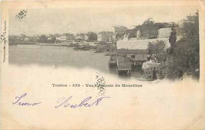 """CPA FRANCE 83 """"Toulon, Vue générale du Mourillon""""."""