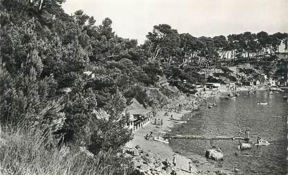 """CPSM FRANCE 83 """"Toulon , Cap Brun, Baie de Méjéan""""."""