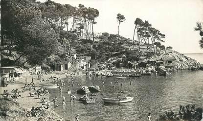 """CPSM FRANCE 83 """"Toulon , Cap Brun, Plage de Méjéan""""."""