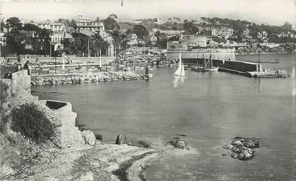 """CPSM FRANCE 83 """"Toulon Mourillon, Baie du fort St Louis""""."""