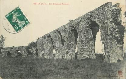 "CPA FRANCE 83 "" Fréjus, Les aqueducs Romains""."