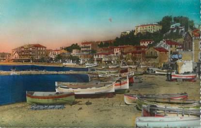 """CPSM FRANCE 83 """" Le Lavandou, La plage""""."""