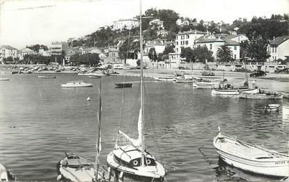 """CPSM FRANCE 83 """" Le Lavandou, Le port""""."""
