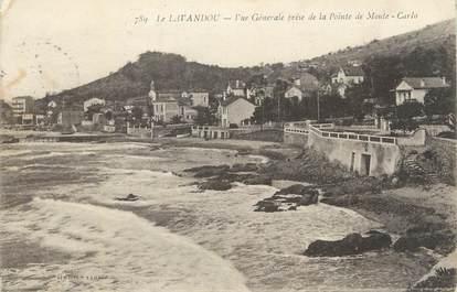 """CPA FRANCE 83 """" Le Lavandou, Vue générale de la Pointe de Monte Carlo""""."""