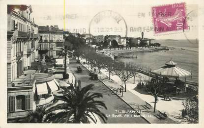 "CPSM FRANCE 83 "" St Raphaël, Le Boulevard Félix Martin""."