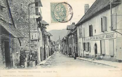 """CPA FRANCE 38 """"Monestier de Clermont, La grande rue""""."""