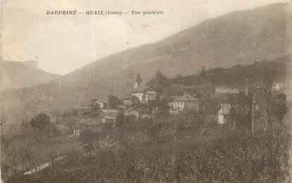 """CPA FRANCE 38 """"Quaix, Vue générale""""."""