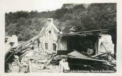 """CPA FRANCE 38 """"La Chartreuse, Ruines de Fourvoirie""""."""