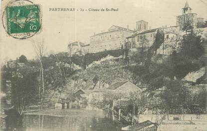 """CPA FRANCE 79 """"Parthenay, Côteau de St Paul""""."""