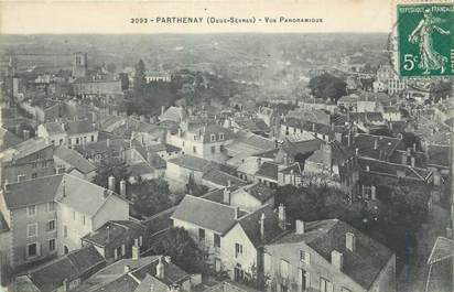 """CPA FRANCE 79 """"Parthenay, Vue panoramique""""."""