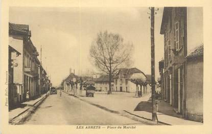"""CPA FRANCE 38 """"Les Abrets, Place du marché""""."""