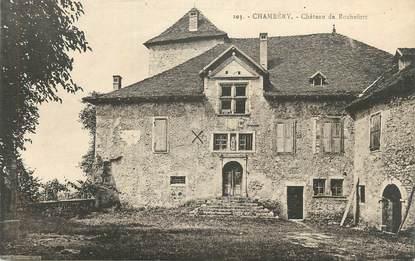 "CPA FRANCE 73 "" Chambéry, Château de Rochefort""."