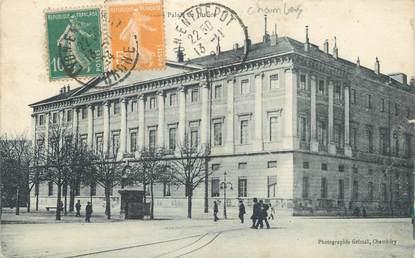 """CPA FRANCE 73 """" Chambéry, Le Palais de Justice""""."""