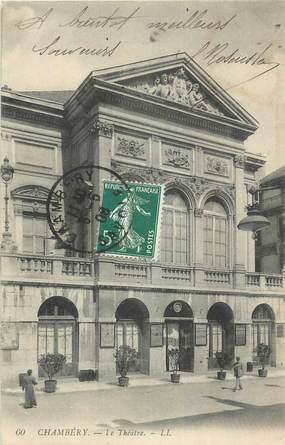 "CPA FRANCE 73 "" Chambéry, Le Théâtre""."