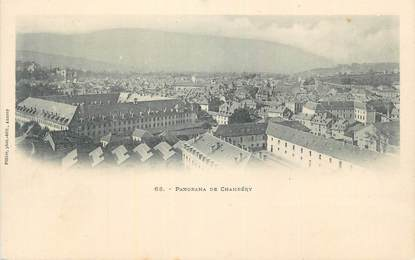 """CPA FRANCE 73 """" Chambéry, Panorama""""."""